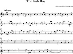 The Irish Boy. Canción Tradicional Irlandesa.