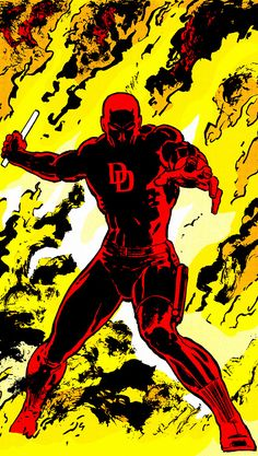 """""""A man without hope…is a man without fear."""" Daredevil -Frank Miller in Daredevil: Born Again"""
