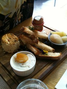 """Breakfast board"" at Orto Trading Co, Surry Hills"