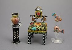 Good Sam Showcase of Miniatures: At the Show - Furniture and Paintings