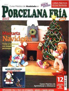 Revista de Navidad de Polimer Clay / Tutorial of Polymer Clay Christmas de MonarcaShopTatuy en Etsy