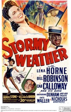 A 1943 American musical film, starring Lena Horne & Bill Robinson. Produced & released by 20th Century Fox. The movie is considered one of the best Hollywood musicals with African-American casts, the other being MGM's Cabin in the Sky, and is considered a primary showcasing of some of the top African-American performers of the time, during an era when African-American actors and singers appearing rarely in lead roles in mainstream Hollywood productions, especially the ones of the musical…