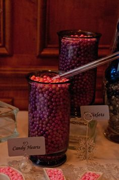 Pink & Blue Candy Buffet  #wedding #candy #candywarehouse