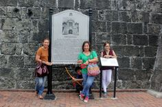 This picture is taken outside Fort Santiago in Intramuros or the Walled City of Manila.