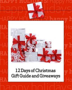 12 Days of Christmas Gift Guide and Giveaways!