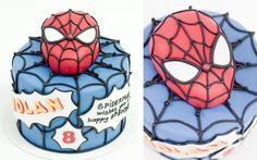 Spiderman Cake Pastel Spiderman
