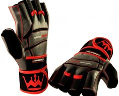 Dominator – Weightlifting gloves with built-in wrist support