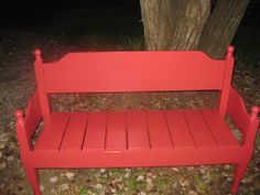 DIY with IVY: Headboard Bench