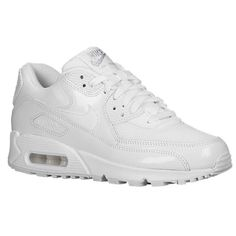 Nike Air Max 90 - Women's A reengineered version of the classic Air Max 90, the Essential supplies the same excellent quality and comfort. Leather and mesh upper with supportive overlays provide a comfortable fit. Full-length PU midsole with a Max Air®in the heel for unbeatable cushioning. Waffle® rubber outsole provides durable traction.