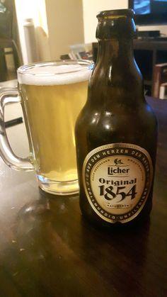 Licher, 1854 naturtrub, Sin filtrar, feo color, sabor intenso, buen cuerpo. A repetir: SI