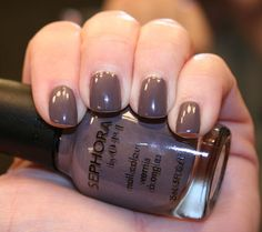 May be the best nail color ever. OPI Metro Chic