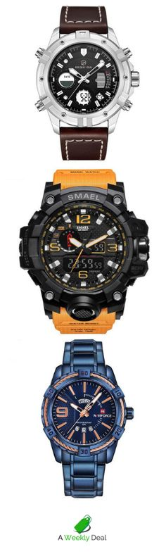 Save up to 80% on our Weekly Deals and overstock items. Plus, get free shipping! Cool Watches, Watches For Men, Men's Watches, Gentlemen Wear, Watch Companies, Casio Watch, Cars For Sale, Mens Fashion, Free Shipping