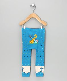 Yellow Stripe 'Under a Leaf' Leggings - Infant | Daily deals for moms, babies and kids