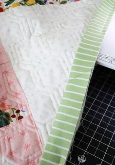 Lella Boutique: The Art of Quilt Binding Machine Binding A Quilt, Quilt Binding, Last Stitch, Quilting Tips, Quilt Top, Quilts, Boutique, Sewing, Count