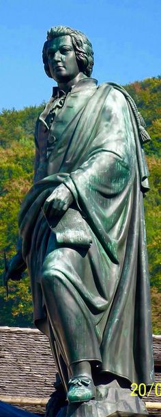Mozart statue in Salzburg,Austria                                                                                                                                                                                 Mais Salzburg Austria, Graz, Public Spaces, Composers, European Travel, Classical Music, Alps, Switzerland, Places To Go