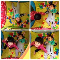 @shihori0310 - 今月1歳になる友達が遊びに来てくれた~♡... - Enjoygram