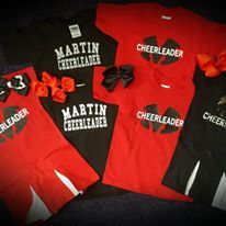Martin Cheerleader
