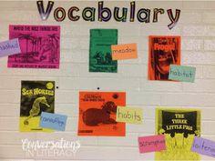 vocabulary word walls