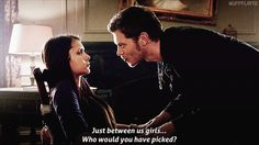 Don't be angry, love on we heart it / visual bookmark #28028527 (klaus,elena,the vampire diaries)