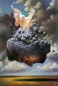 Rafal Olbinski ~ Surrealist painter