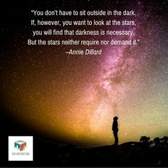 Outdoor Inspirational Quote by Annie Dillard - http://theoutsidebox.com