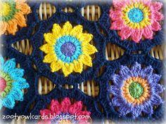 Ravelry: Sunny Flowers Table Runner pattern by zelna olivier