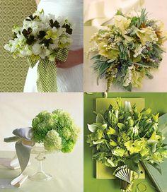 shmattering of bouquet ideas....