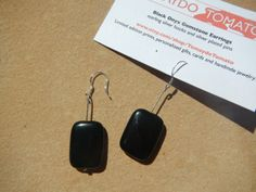Black Onyx Gemstone Earrings via Etsy https://www.etsy.com/listing/127796064/black-onyx-gemstone-earrings?ref=shop_home_active