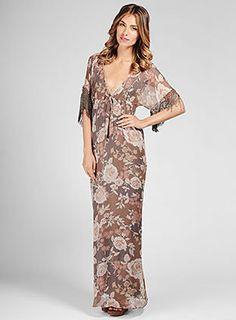 ShopStyle: Rosa Flora Maxi Dress