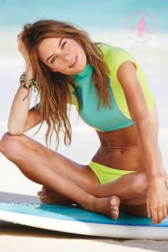 Click to shop all our surf-girl inspired bikinis. / VS Swim 2014