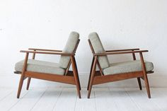 Danish Lounge Chair Arm Chair by OtherTimesVintage on Etsy