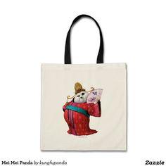 Mei Mei Panda Budget Tote Bag panda. Producto disponible en tienda Zazzle. Product available in Zazzle store. Regalos, Gifts. Link to product: http://www.zazzle.com/mei_mei_panda_budget_tote_bag-149124795674448798?CMPN=shareicon&lang=en&social=true&rf=238167879144476949 #bolso #bag #oso #panda #bear