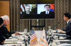 President Trump is considering pulling out of a major trade agreement with South Korea as he tries to fulfill get-tough campaign pledges on international trade. But he has not yet made a final decision, two senior administration officials said Saturday.