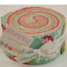 SCRUMPTIOUS Jelly Roll by Bonnie & Camille for Moda Fabrics