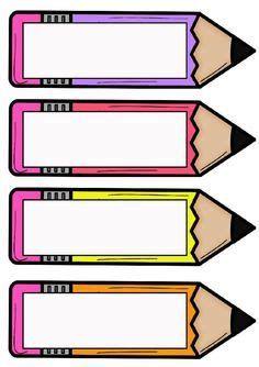 Classroom Organization, Classroom Decor, Classroom Labels Free, School Border, Frame Border Design, School Frame, School Labels, School Clipart, School Worksheets