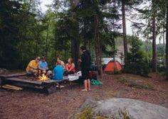 Overnight wilderness trip near Helsinki Includes equipment and meals Duration 22 h with transportation Available for private groups Helsinki, Wilderness, National Parks, Feelings, Night, Day, Nature, Summer, Naturaleza