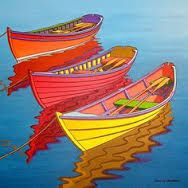 Image result for painting rowboats