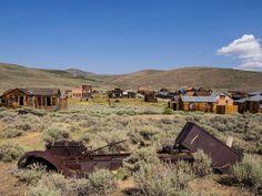 Najväčšie mestá duchov, ktoré zívajú desivou prázdnotou - Akčné ženy Ghost Town California, Bodie California, Happy Trails, Back In Time, Ghost Towns, Abandoned Places, Gold Rush, Mountains, Park