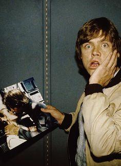 Star Wars Cast, Star Wars Fan Art, Star Wars Pictures, Star Wars Images, Mark Hamill Luke Skywalker, Humour Geek, Han And Leia, Luke And Leia Kiss, Saga