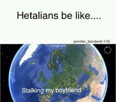 Hetalia | fandom | Hetalians | Stalking