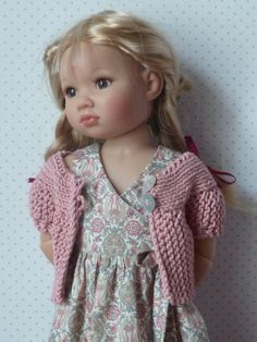 Photo from a beautiful blog for dolls clothes Les Cheries de Vaniline