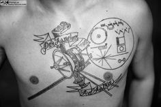 Space Voyager | 39 Tattoos That Are Basically Works Of Art
