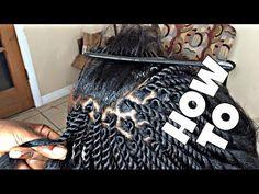 Neatest Twists Ever With Kanekalon Hair [Video] - http://community.blackhairinformation.com/video-gallery/braids-and-twists-videos/neatest-twists-ever-with-kanekalon-hair-video/