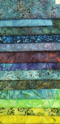Our beautiful Stamped Batiks http://www.eqsuk.com/catalogsearch/result/?q=batiks&category=