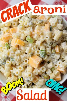 Easy to make and so good, it's addictive! Try this amazing macaroni salad. Perfect for camping trips and barbecues!