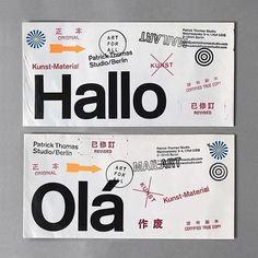 Weekly Inspiration Dose 071 - Indieground Design #graphicdesign #design #art #inspiration #businesscard #helvetica #travel #minimal Type Design, Layout Design, Design Art, Text Layout, Book Layout, Ticket Design, Design Fields, Branding, Brand Identity