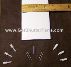 Replacement shutter slats  #replacementshutterparts #louvers #slats #blades