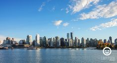 View Of Downtown Vancouver From Stanley Park Seawall. Photo Taken By Los Fizz of http://www.losfizz.com/photography - Pentax K3, Vancouver, British Columbia, Canada. September 2015. Lifestyle Blog