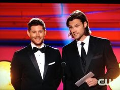 Jensen & Jared at the 2014 Critics' Choice Movie Awards