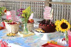 Annie birthday party | criandoando.com